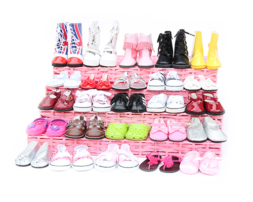 I Love New York High Tops Sneakers for 18 inch American Girl Doll Shoes LOVVBUGG