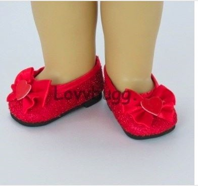 72mm Heart Cut fit American Girl YELLOW Doll Shoes Baby Face others
